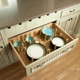 Peg Board Drawer Organizer