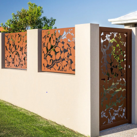 LC Entry Gate and Panel with Autumn design
