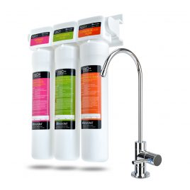 H2O+ Coral Three-Stage Undercounter Water Filtration System (UC300)