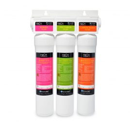 H2O+ Coral Three-Stage Under Counter Water Filtration System Replacement Filter Pack (UF-35)