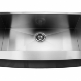 35 7/8″ X 20 3/4″ X 10″ UNDERMOUNT, SINGLE BOWL, STAINLESS STEEL, FARMHOUSE APRON KITCHEN SINK
